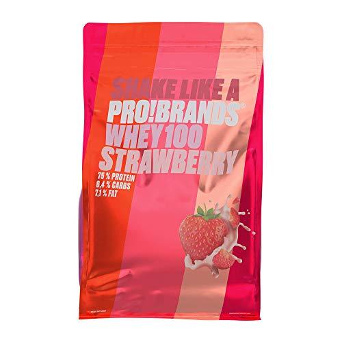 Probrands - Whey Powder Strawberry 900g - In...