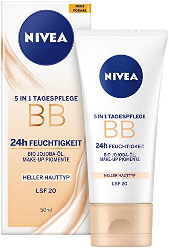 NIVEA BB 5 in 1 Tagespflege 24h Feuchtigkeit (50...