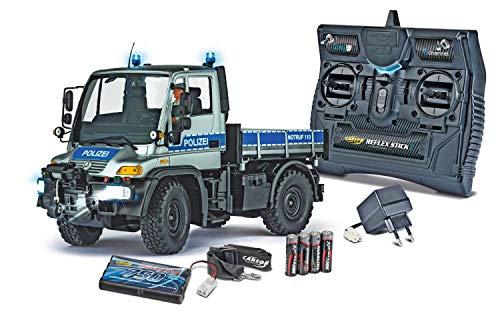 Carson 500907290 1:12 MB Unimog U300 Polizei 2.4G,...
