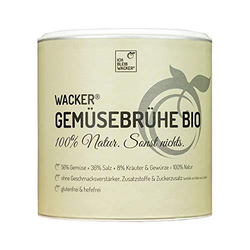 Wacker Gemüsebrühe Bio, 300g. Glutenfrei,...