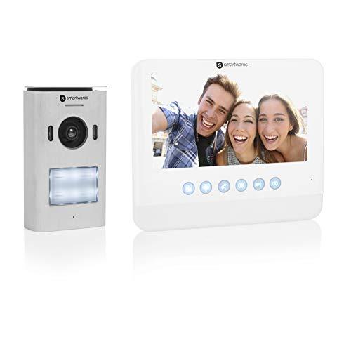 Smartwares DIC-22212 Video Türsprechanlage (für...