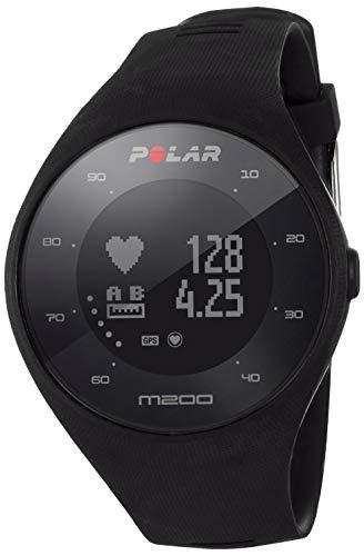 Polar M200 Black Größe M/L Sportuhr, schwarz