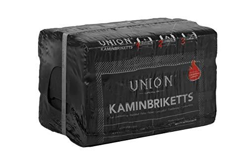 UNION 10kg 18 Stück Kaminbriketts...