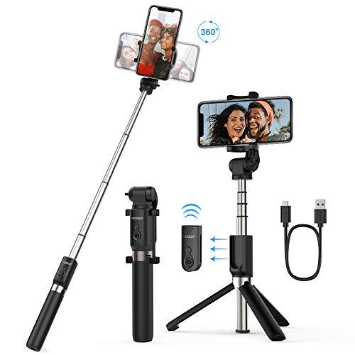 Yoozon Bluetooth Selfie-Stick Stativ mit...