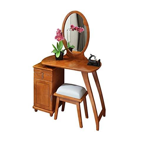 H-ei Frisierkommode Schlafzimmer Massivholz Vanity...