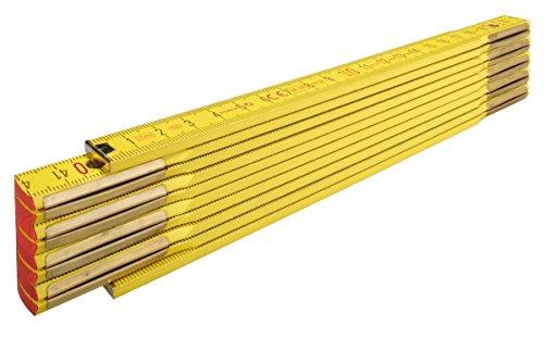 STABILA Holz-Gliedermaßstab Type 907, 2 m, gelb,...