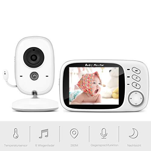 Babyphone mit Kamera, BOIFUN Smart Baby Monitor...