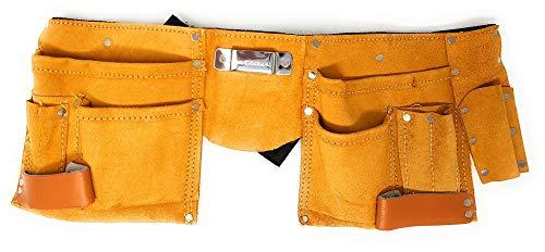 Toolzy 100074 Werkzeuggürtel 11 Taschen Werkzeug...