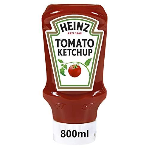 Heinz Tomato Ketchup, Kopfsteherflasche, 8er Pack...