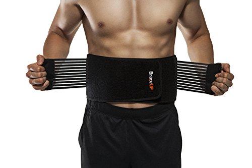 BraceUP Rückenstützgürtel – Atmungsaktive...