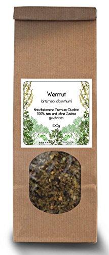 Wermut-Kraut geschnitten 100g (Sorten-rein) - 100%...