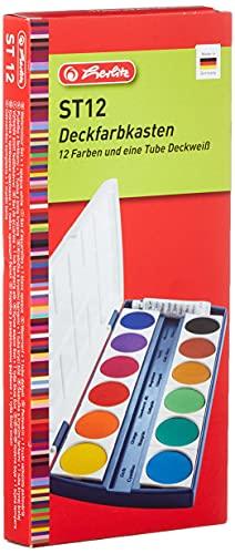 Herlitz 10116655 Schulmalfarben bzw....