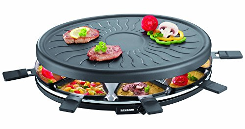 SEVERIN Raclette-Partygrill, ca. 1.100 W, Inkl. 8...
