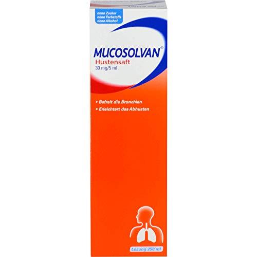 Mucosolvan Hustensaft, 250 ml Lösung