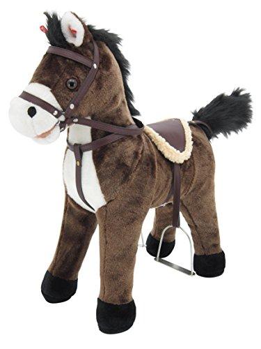 Sweety Toys 5062 Stehpferd Plüsch Pferd Chocolate...