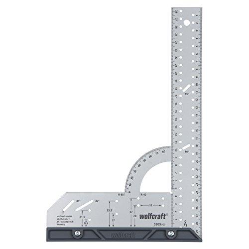 wolfcraft Universalwinkel 5205000; Winkelmesser...