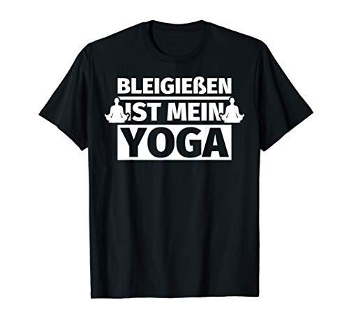 Bleigießen ist mein Yoga - Bleigießen Geschenk...
