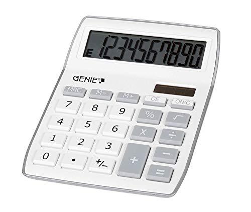 Genie 840 S 10-stelliger Tischrechner (Dual-Power...