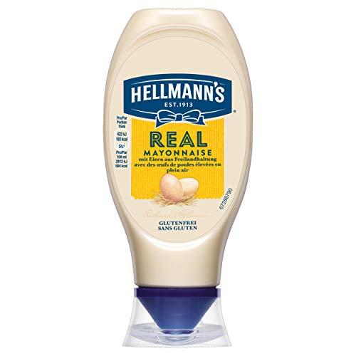 Hellmann's Real Mayonnaise (mit Rapsöl, ideal als...