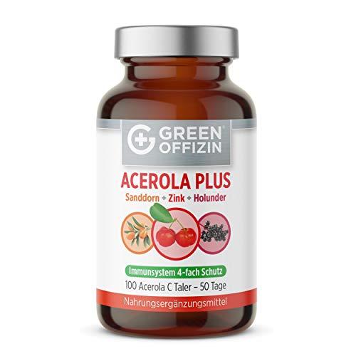 Acerola Vitamin C Taler Hochdosiert I Natürliches...