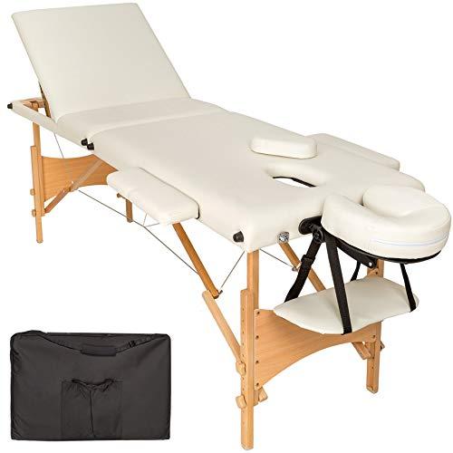 TecTake Mobile Massageliege 3 Zonen...
