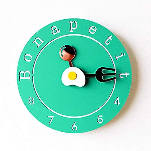 NEWELLYY The Classic Clock,Stille Wanduhr im...