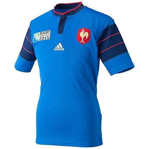 Frankreich adidas Rugby WM Heim Trikot A95802,...