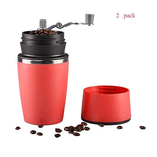 RSGK Tragbare Kaffeemühle Tasse Multifunktionale...