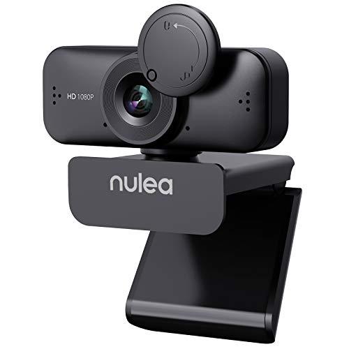 C902 Webcam mit Mikrofon für PC/Laptop, HD 1080P...