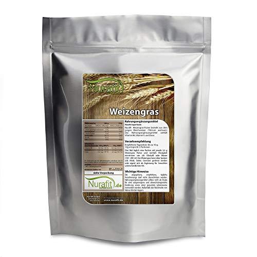 Nurafit Weizengraspulver I reines Weizengras...