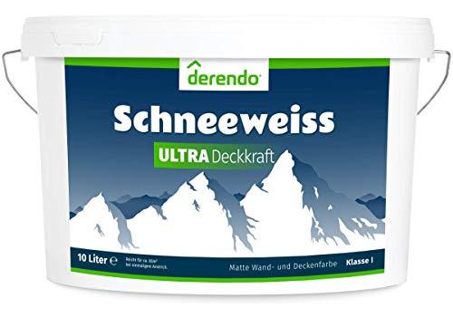 Derendo Schneeweiss Ultra - höchste Deckkraft und...