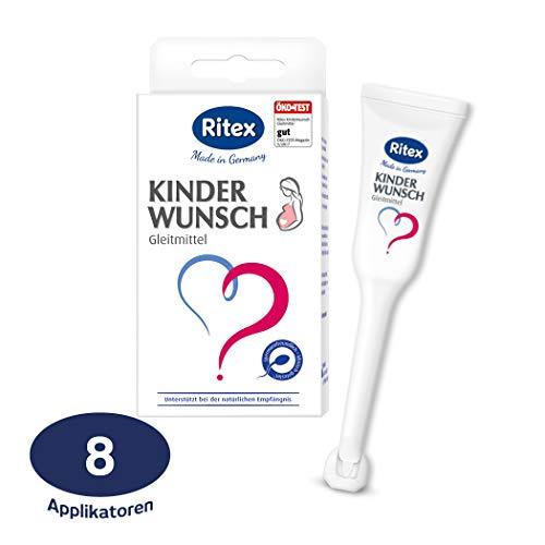 Ritex Kinderwunsch Gleitmittel 8 Applikatoren à 4...