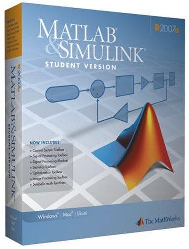 MATLAB & SIMULINK, R2007a3, CD-ROMs For Windows...