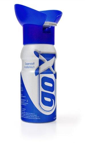 mediAID goX - 6 Liter Sauerstoff in der Dose