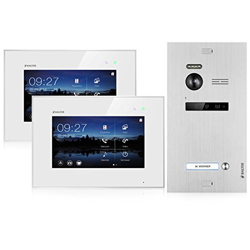 BALTER EVO Video Türsprechanlage  2 x Touchscreen...