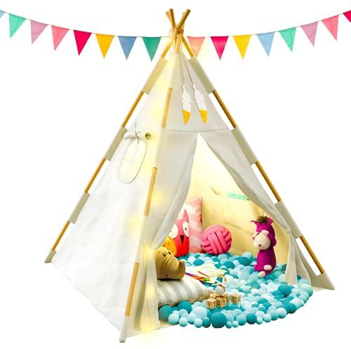 Tipi Zelt für Kinder - Tippi Kinderzelt für...