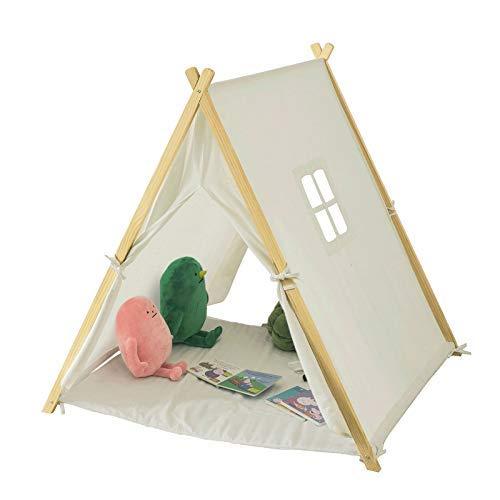 SoBuy OSS02-W Spielzelt Zelt für Kinder mit 2...