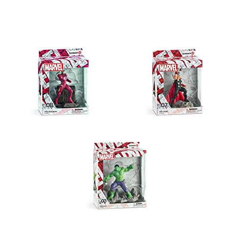 Schleich Marvel Helden Sammel-Figuren Set - Hulk...