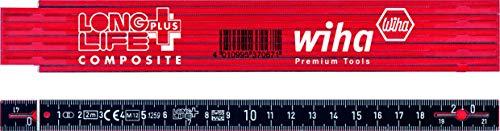 Wiha Gliedermaßstab Longlife® Plus Composite 2 m...