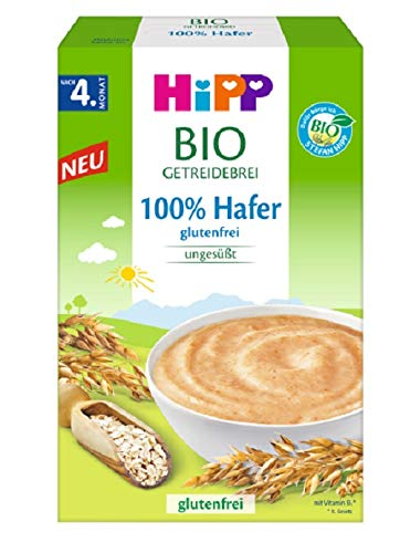 Hipp Bio-Getreide-Breie ungesüßt, 100% Hafer,...