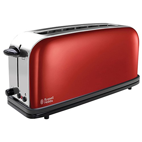 Russell Hobbs Toaster Langschlitz Colours+ rot,...