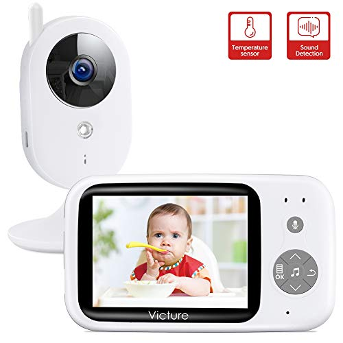 Victure Babyphone mit Kamera, Video Baby...