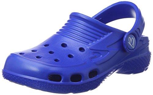 Beck Unisex-Kinder Clogs,Blau (Royalblau 12),34 EU