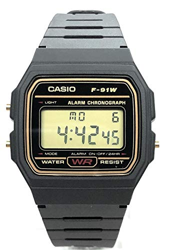 CASIO Herren Digital Uhr mit Harz Armband...