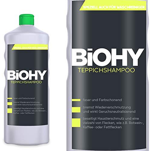 BIOHY Teppichshampoo 1 Liter Flasche Konzentrat -...