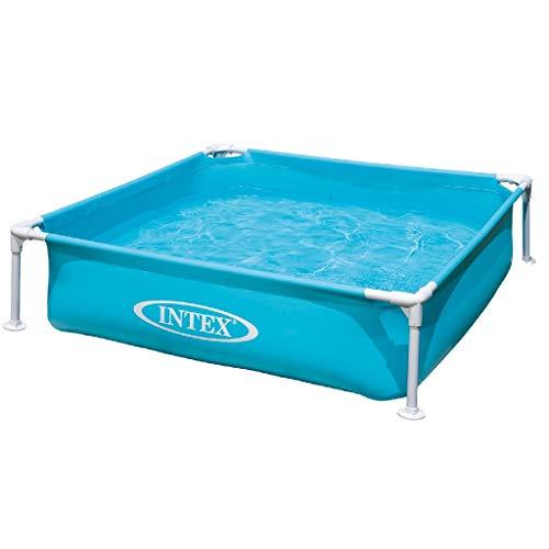 Intex Kinderpool Frame Pool Mini, Blau, 122 x 122...