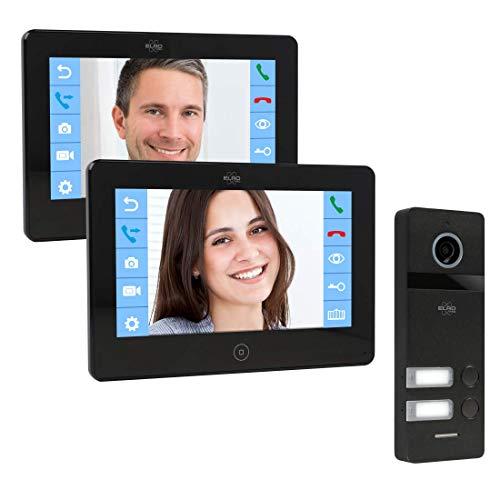 ELRO PRO PV40 Full HD Video-Türsprechanlage mit 2...
