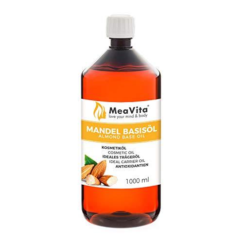 MeaVita Mandelöl Basisöl, süß, 1er Pack (1 x...