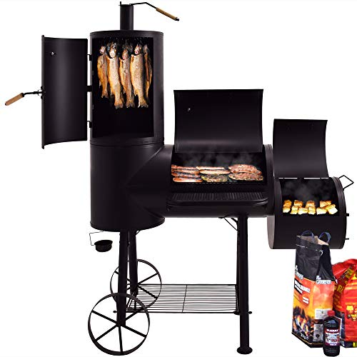 Syntrox Germany XXL Smoker Barbecue BBQ Grill...
