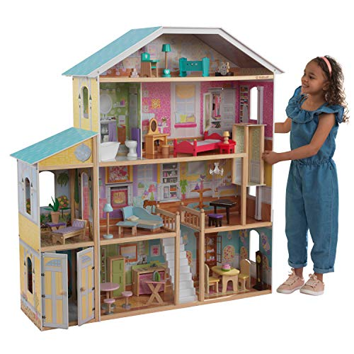 KidKraft 65252 Puppenhaus Majestic Mansion aus...